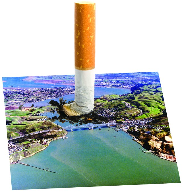 cigarette butt pollution